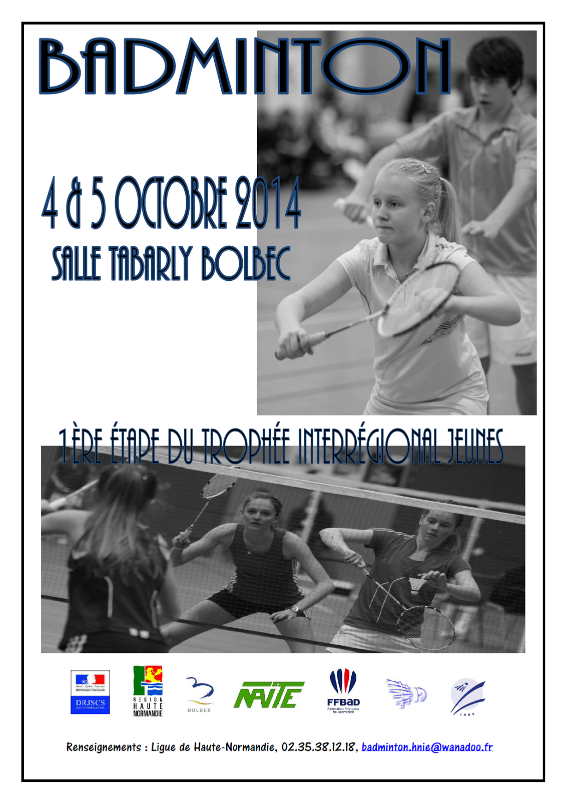 Formation Amt Ligue Normandie Ligue De Haute Normandie De Badminton Août 2014