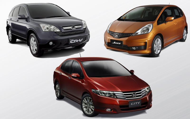 2011-2014 Honda Jazz, City and CR-V