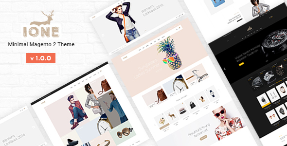 iOne Fastest Minimal Magento 2 Theme For Auction Sites