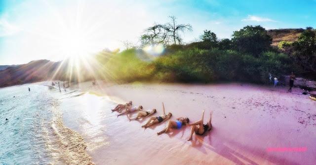Ada tiga pink beach di Flores - Indonesia