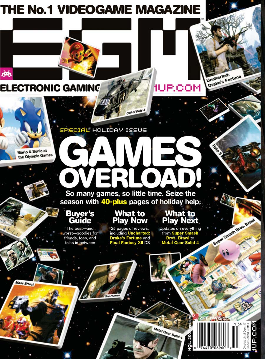 Megalextoria: Electronic Gaming Monthly – Holiday 2007