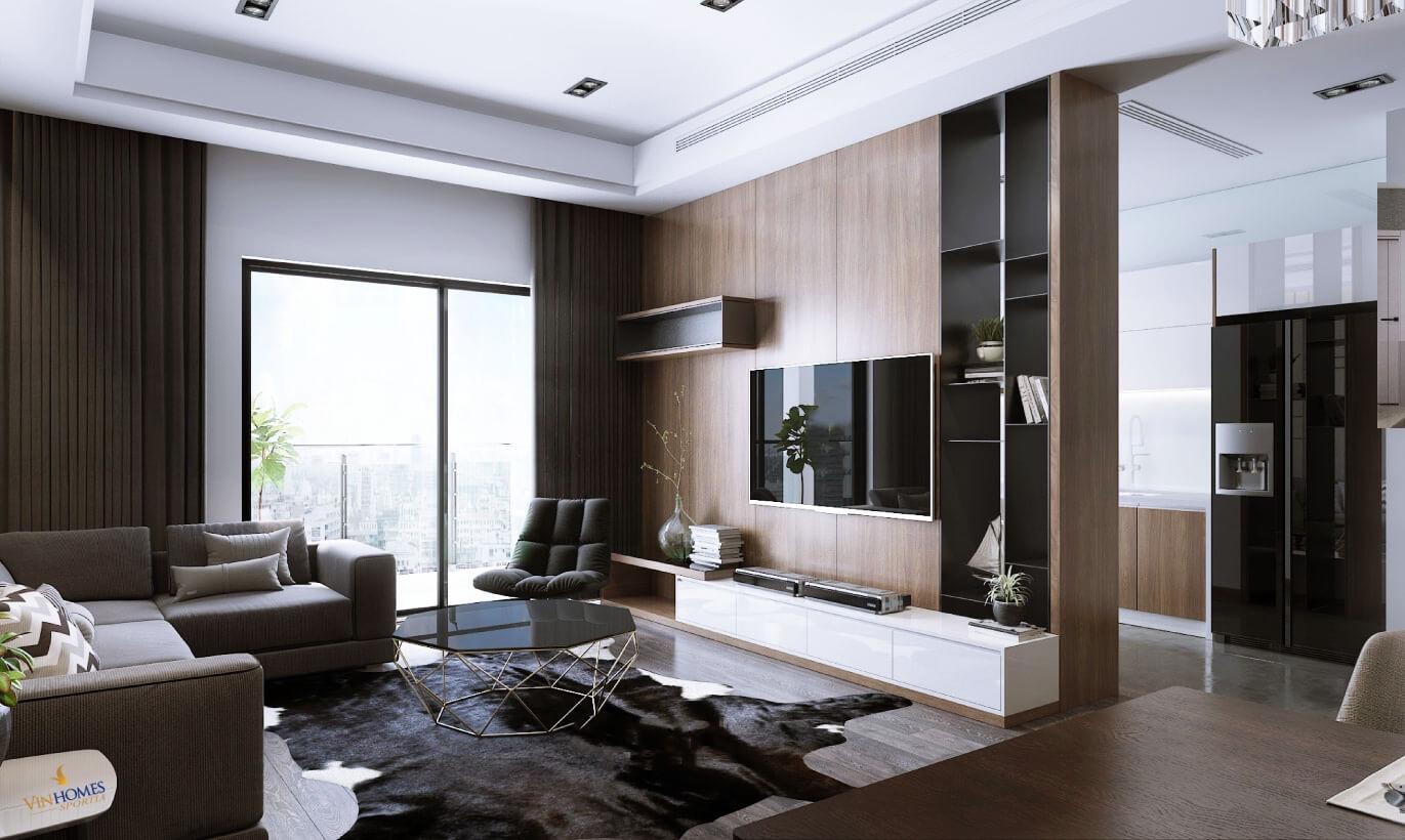 Nội thất căn hộ cao cấp chung cư Vinhomes Sportia