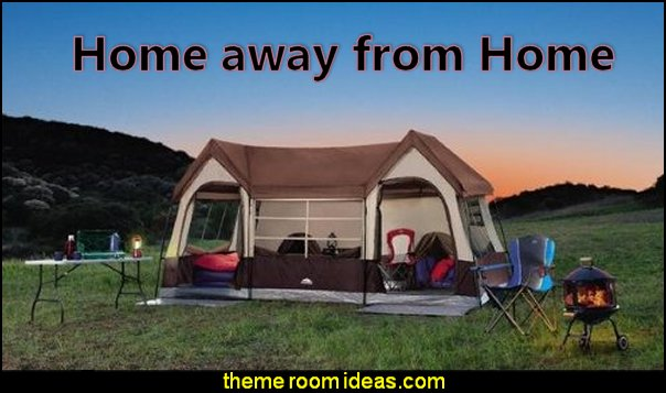 camping - glamping - camping gear - outdoor decor - tents fun furnishings - outdoor theme - tents - gazebos - water sports - camping room decor - Boys Camping Room - Girls Camping Room - Camp and Outdoor Style Decor - swimming pool decorations - summer fun water sports toys giant pool Inflatables