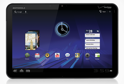 Motorola Xoom for Verizon receives new software update