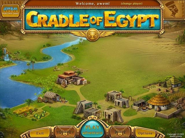 Cradle of Egypt has beautiful hand drawn graphics, great bonuses