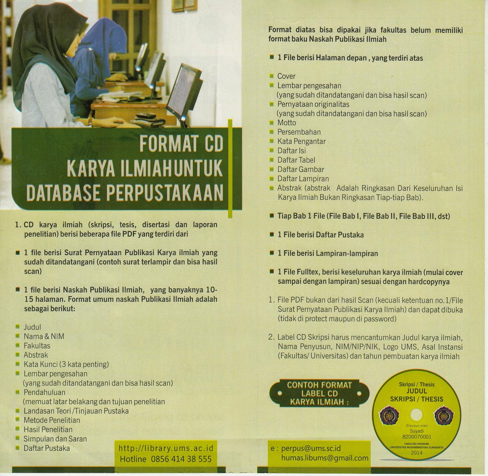 Program Studi Manajemen Fakultas Ekonomi Dan Bisnis Ums Format Cd