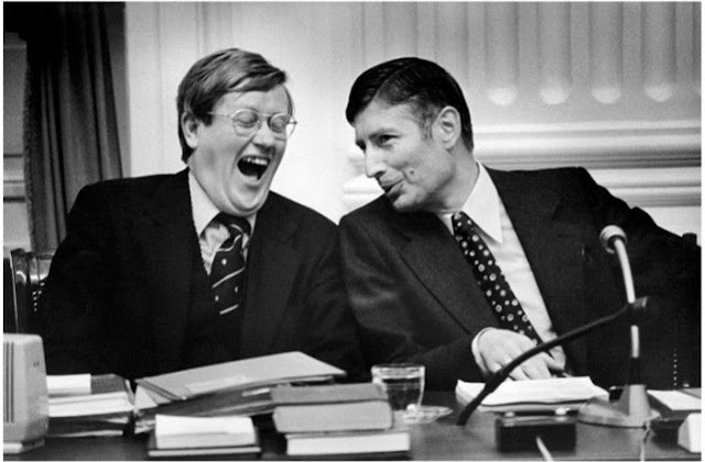 Vincent Mentzel: Hans Wiegel en Dries van Agt, 1973