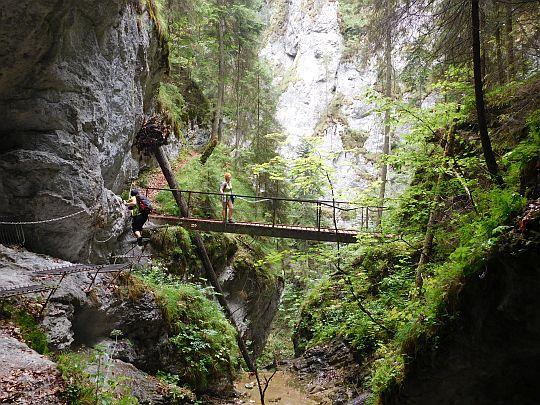 Mostek nad Olbrzymim Wodospadem.