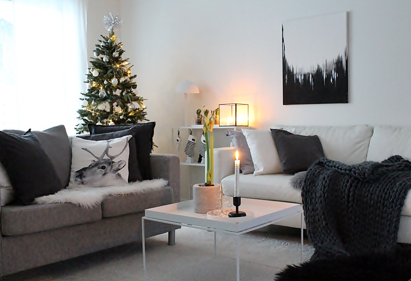 la dolce vita blog scandinavian christmas decor 2018