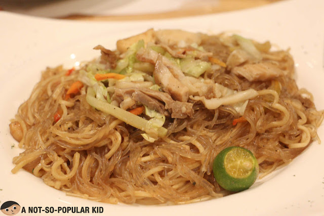 Pansit in Kuya J Restaurant