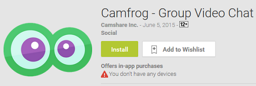 Camfrog Extreme for Mobile