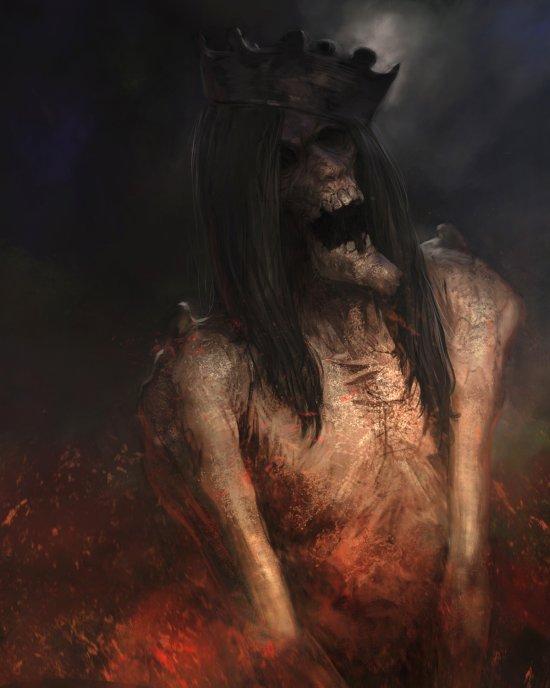 Xavier Lozano Ribeiro deviantart artstation arte ilustrações fantasia terror games
