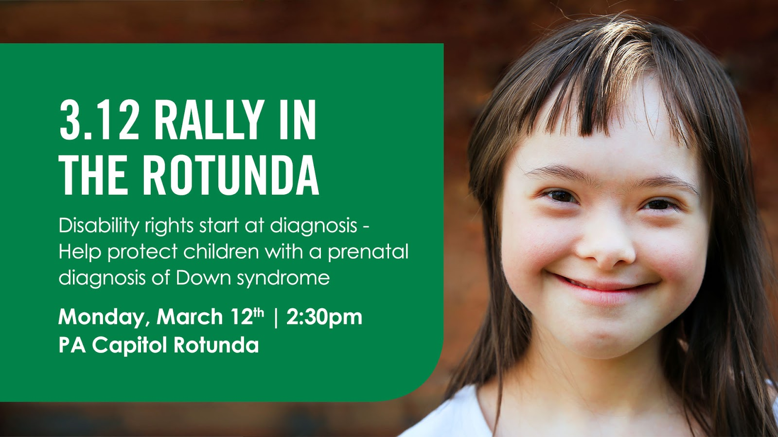 she and other people with down syndrome deserve our utmost respect and that starts with respecting their inherent right to life