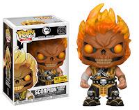 Funko Pop! Scorpion Flaming Skull Hot Topic