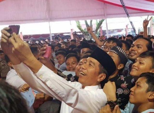 Sosok Jokowi Sederhana dan membui