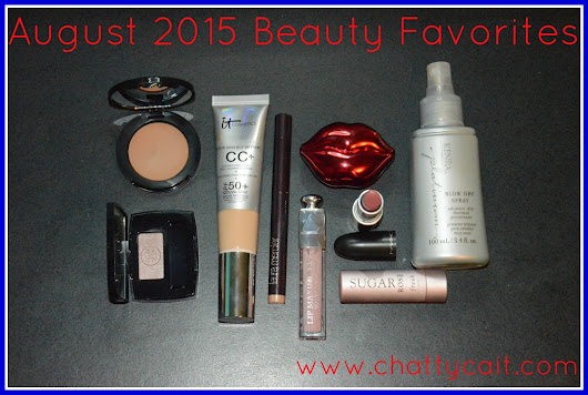August 2015 Beauty Favorites