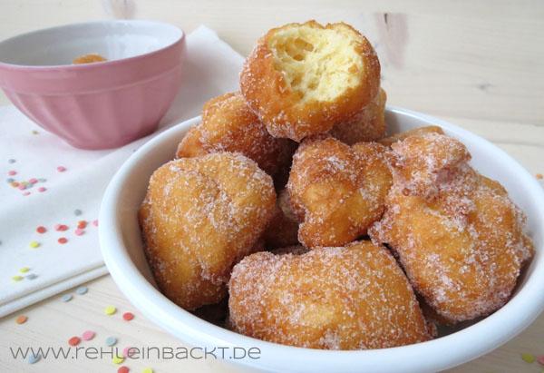 Quarkbällchen | Foodblog rehlein backt