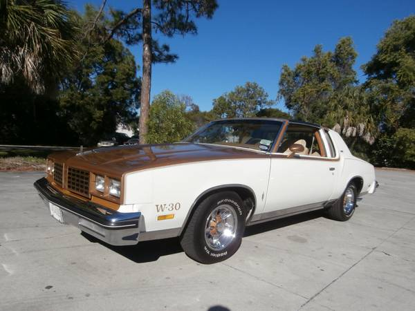 1980 Oldsmobile Cutlass 442 W30