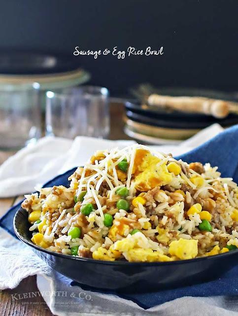 http://www.kleinworthco.com/2016/08/sausage-egg-rice-bowl.html