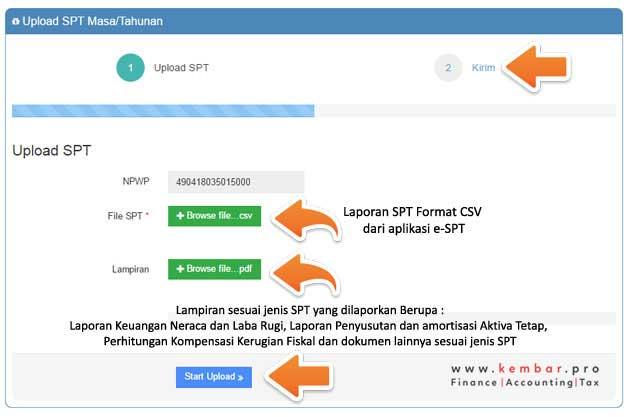 Aplikasi Upload SPT via DJP Online