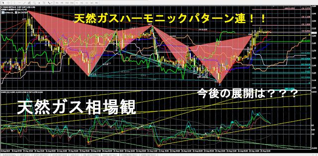 天然ガス先物価格の予測ブログ