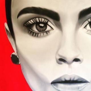 Британский художник. Iona Rowland