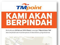 TMpoint Jalan TAR Relocated to Quill City Mall, Kuala Lumpur