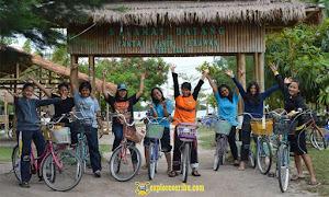 bersepeda di pulau pari kepulauan seribu selatan