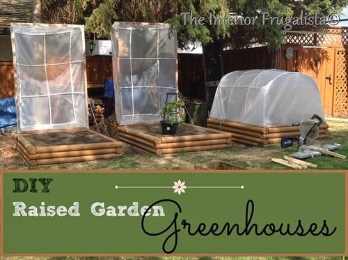 Small Raised Garden Greenhouses