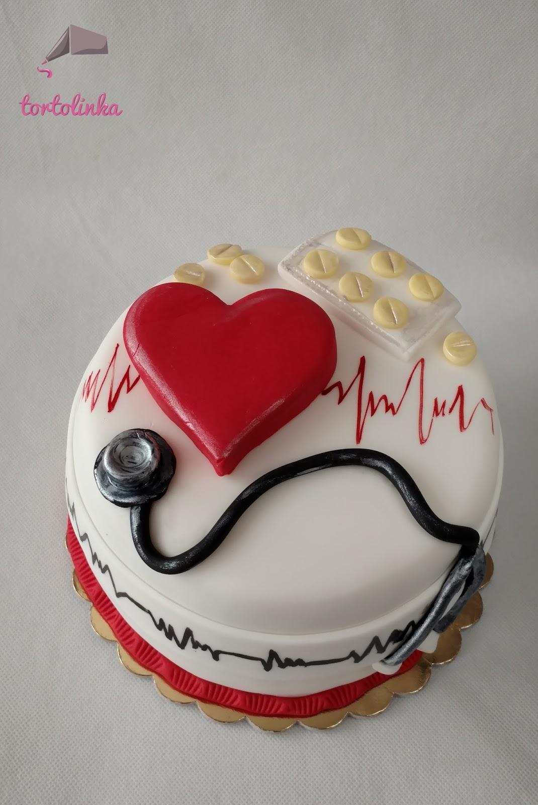 Tortolinka Torty Artystyczne Tort Dla Kardiologa