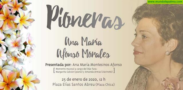 """Los Llanos de Aridane rendirá homenaje a Ana María Afonso Morales en el ciclo mujeres """"Pioneras"""" del municipio"""