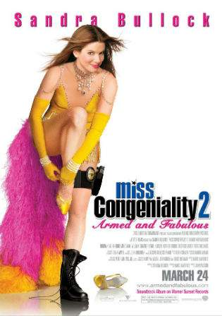 Miss Congeniality 2 (2005) Armed and Fabulous 480p Hindi 350MB Dual Audio Watch Online Full Movie Download bolly4u