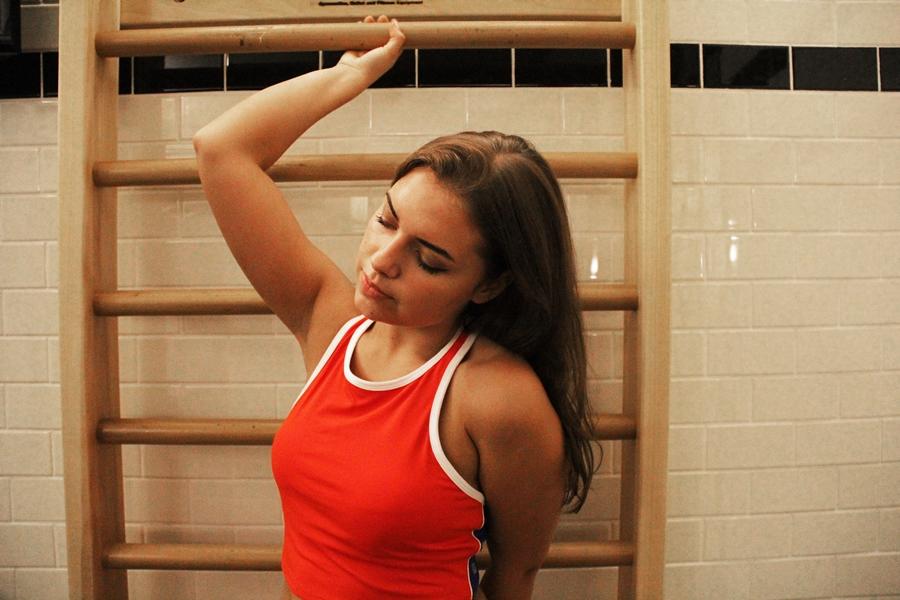 sport bra style