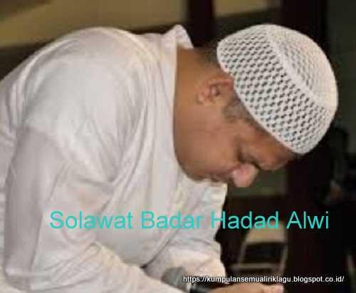Solawat Badar Hadad Alwi