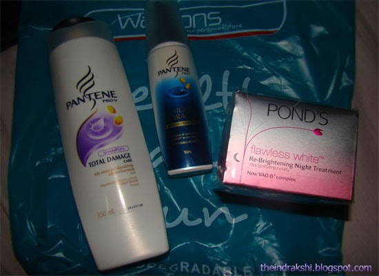 Month of May - Beauty haul from Watsons