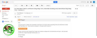Sobat kirimkan alamat email ke admin Blog Mang Yono