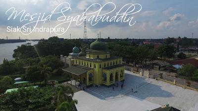 Masjid Syahabuddin, Wisata Sejarah di Siak Sri Indrapura