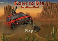 لعبة سيارات الزومبي