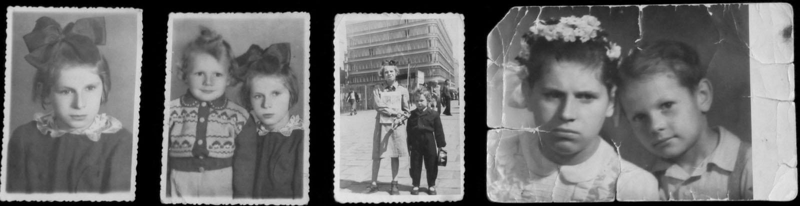 Family album with Tereska's photos. Courtesy of Krzysztof Siemiątkowski.