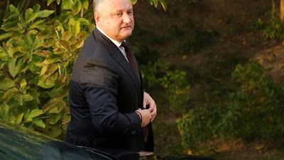 الرئيس المولدوفي ايجور دودون