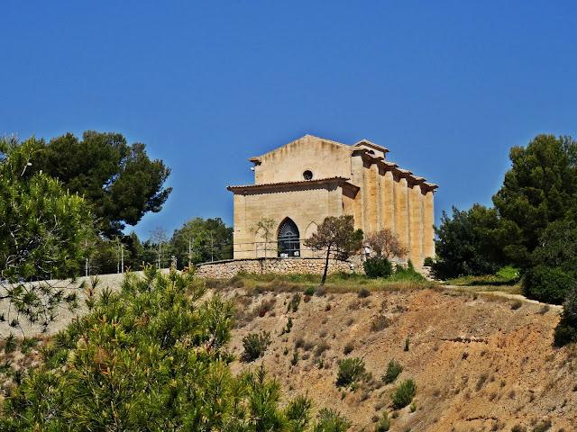 widok z góry na Portal Nous, Majorka, Hiszpania