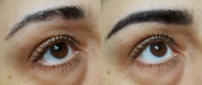 Review: L´Oréal Paris - Brow Artist XPERT Augenbrauenstifte Vorher Nachher Before After