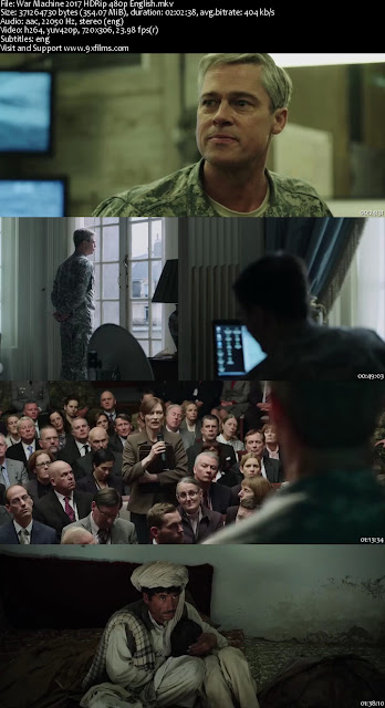War Machine 2017 HDRip 480p English