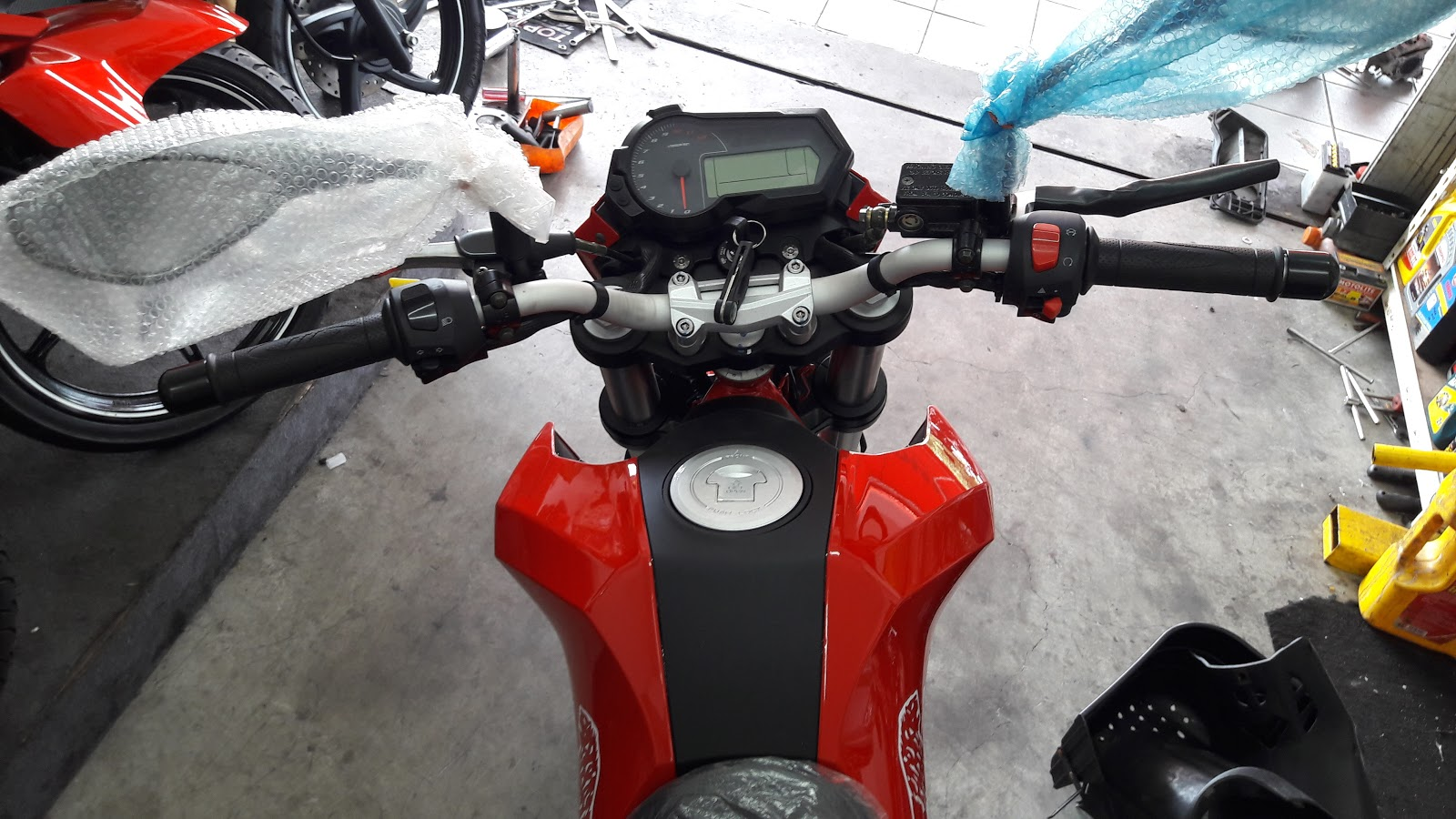 Review - New Benelli TNT 135