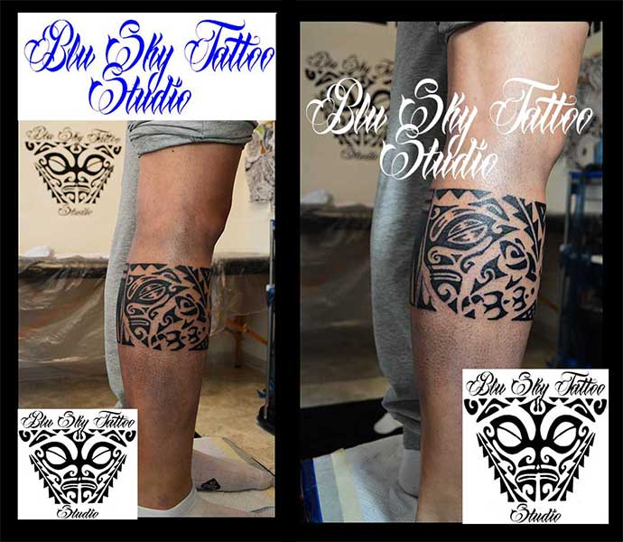 Favori Blu Sky Tattoo Studio: Maori Significato 374 UO05
