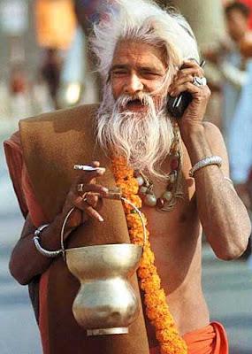 Indian Mobile wala Baba