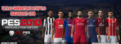 GENERATION V2 PES 10 PATCH 2018