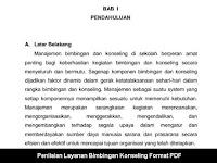 Penilaian Layanan Bimbingan Konseling Format PDF Layak Koleksi