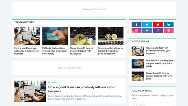 Seoify- Responsive Blogger Template - Responsive Blogger Template