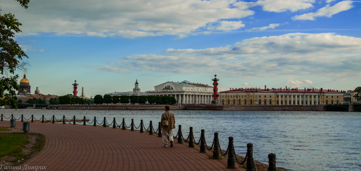 Стрелка Васильевского острова фото